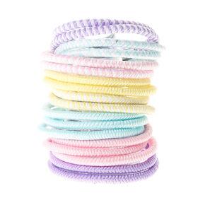 Claire's Club Mini Pastel Hair Bobbles - 18 Pack,