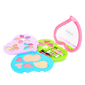 Rainbow Heart Bling Makeup Set,