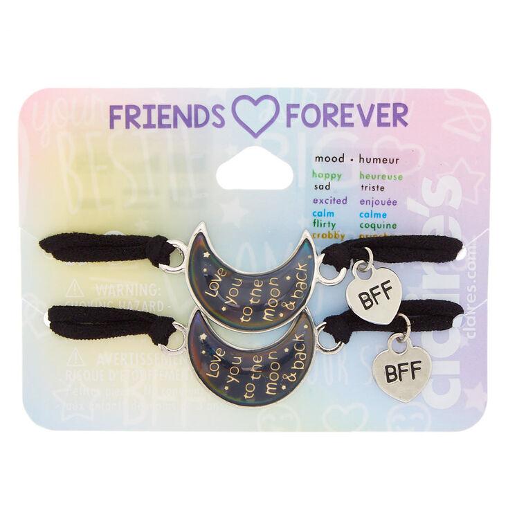 Mood Moon Friendship Stretch Bracelets - 2 Pack,