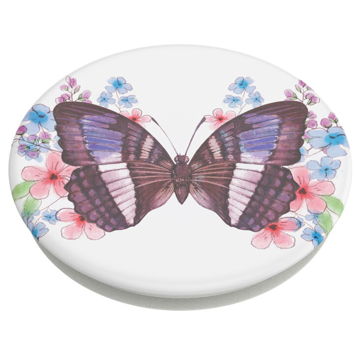 PopSockets PopGrip - Floral Butterfly,
