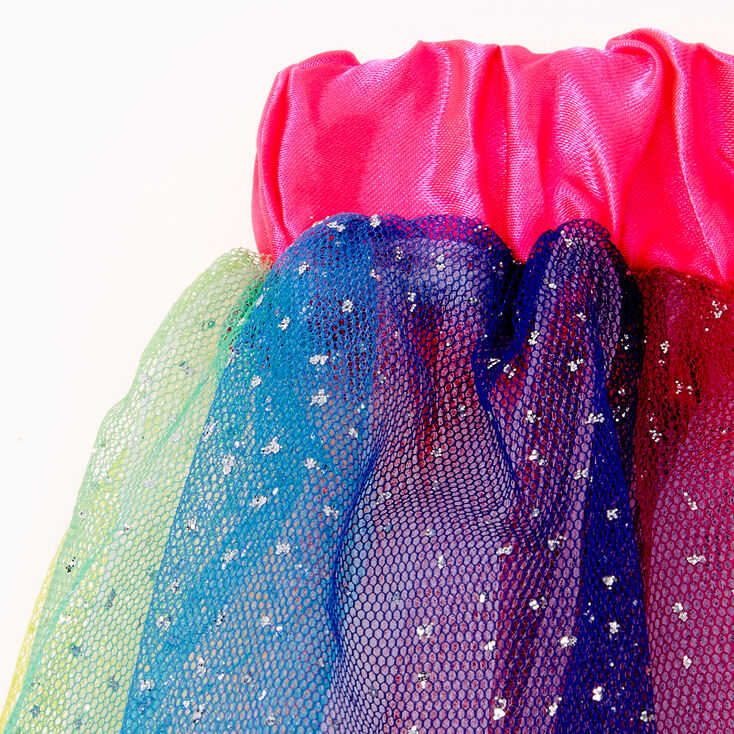Claire's Club Rainbow Glitter Tutu,