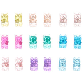 Gummy Bear Stud Earrings - 9 Pack,