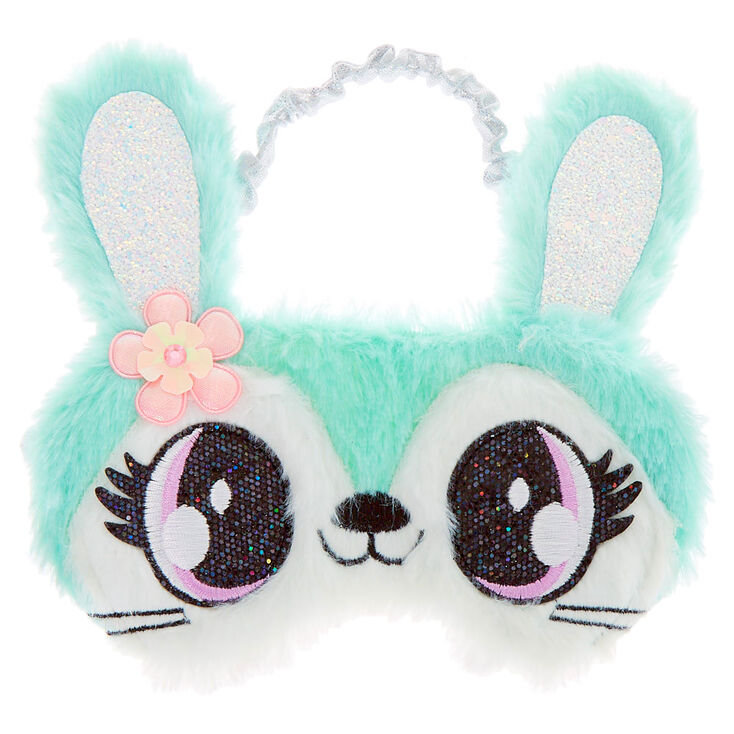 Claire/'s Girl/'s Luna the Owl Sleeping Mask Mint Green