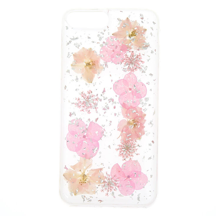 pick up 24afd 007c1 Pink Pressed Flower Phone Case - Fits iPhone 6/7/8 Plus