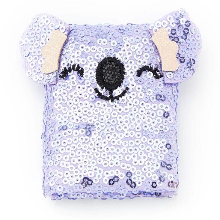Sidney the Koala Furry Lock Diary - Gray,