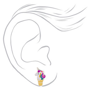 Silver Magical Treats Clip On Stud Earrings - 3 Pack,