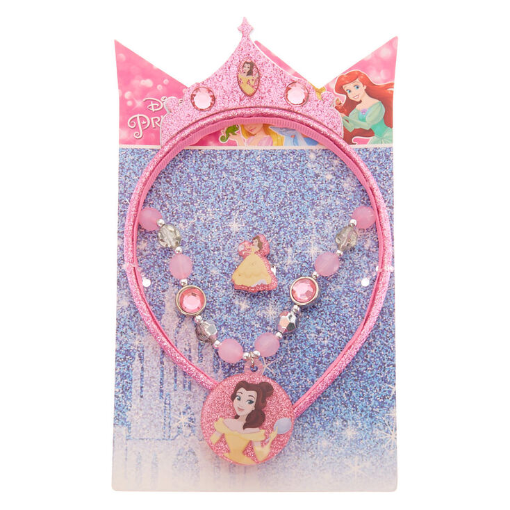 ©Disney Princess Belle Headband & Jewellery Set - 3 Pack,