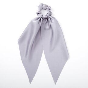 Small Hair Scrunchie Scarf - Dusty Blue,