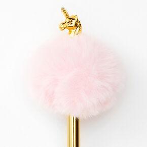 Pom Pom Unicorn Pen - Pink,