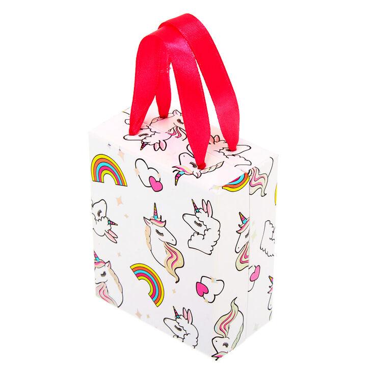Medium Miss Glitter the Unicorn Gift Box - White,
