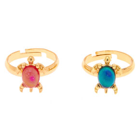 Best Friends Turtle Mood Rings - 2 Pack,