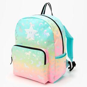 Pastel Rainbow Unicorn Mini Backpack,