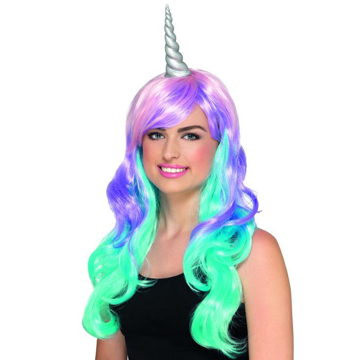 Ombre Unicorn Wig,
