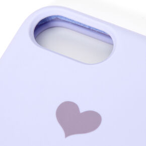 Lavender Heart Phone Case - Fits iPhone 6/7/8/SE,