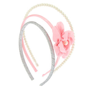 Claire's Club Elegant Headbands - 3 Pack,