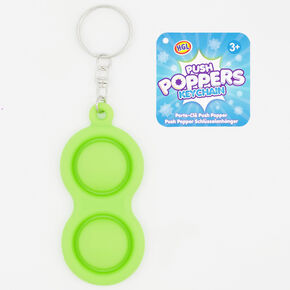 Push Poppers Fidget Toy Keyring – Styles May Vary,
