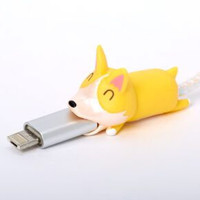 Corgi Cable Critter - Yellow,