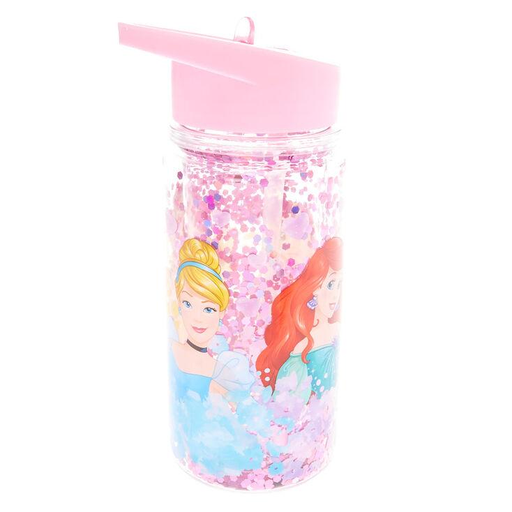 ©Disney Princess Glitter Water Bottle - Pink,