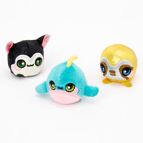 Squeezamals Micro Scented Plush 3 Pack - Styles May Vary,