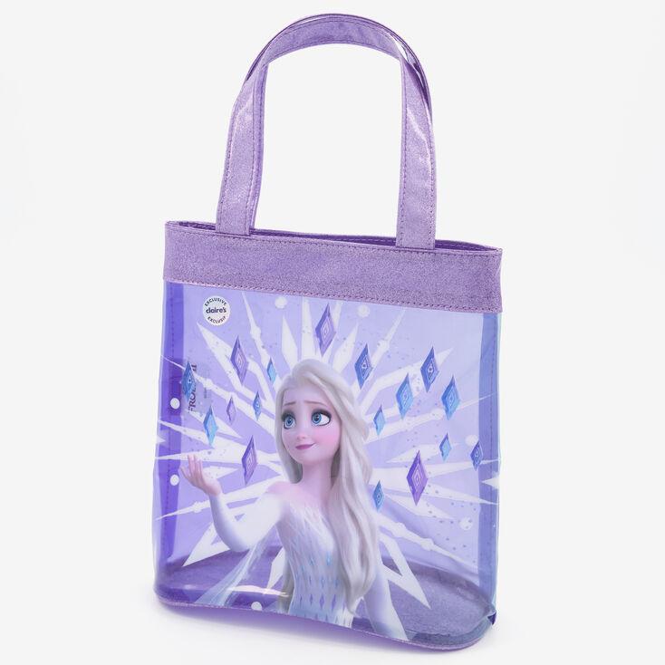 Sac cabas Elsa La Reine des Neiges2 ©Disney - Violet,
