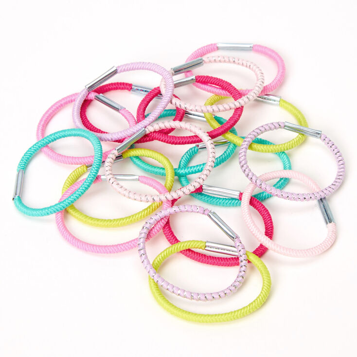 Claire's Club Hair Bobbles - 18 Pack,