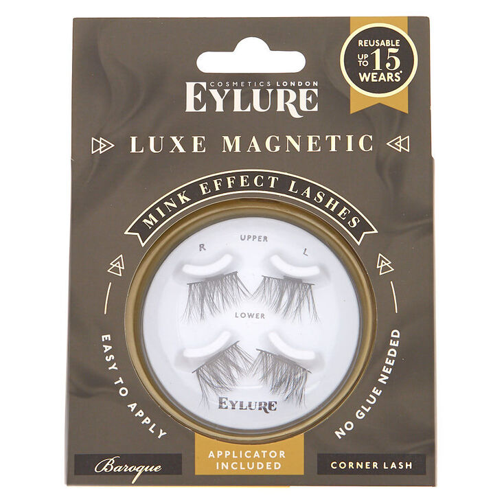 Eylure Luxe Magnetic Mink Corner Lashes - Baroque,