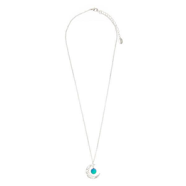 Claire's - moon pendant mood necklace - 2