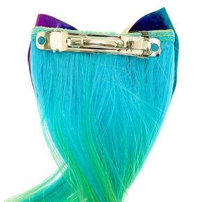 Claire's Club Rainbow Faux Hair Clip,