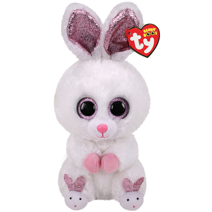 Ty Beanie Boo Medium Slippers the Bunny Plush Toy   Claire's US
