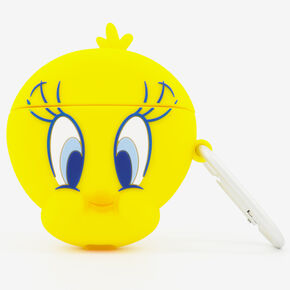 Looney Tunes™ Tweety Silicone Earbud Case Cover - Compatible With Wireless Ear Bud Cases,