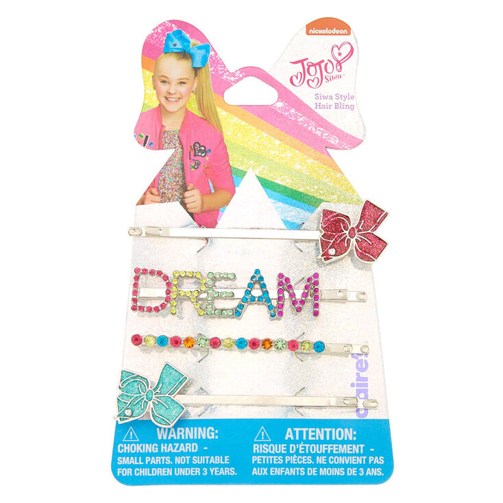JoJo Siwa™ DREAM Bobby Pins - 4 Pack,