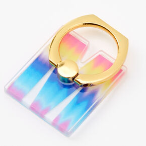 Ombre Initial Ring Stand - M,