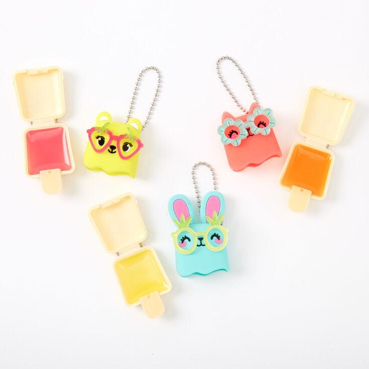 Pucker Pops Fruit Glasses Lip Gloss Set - 3 Pack,