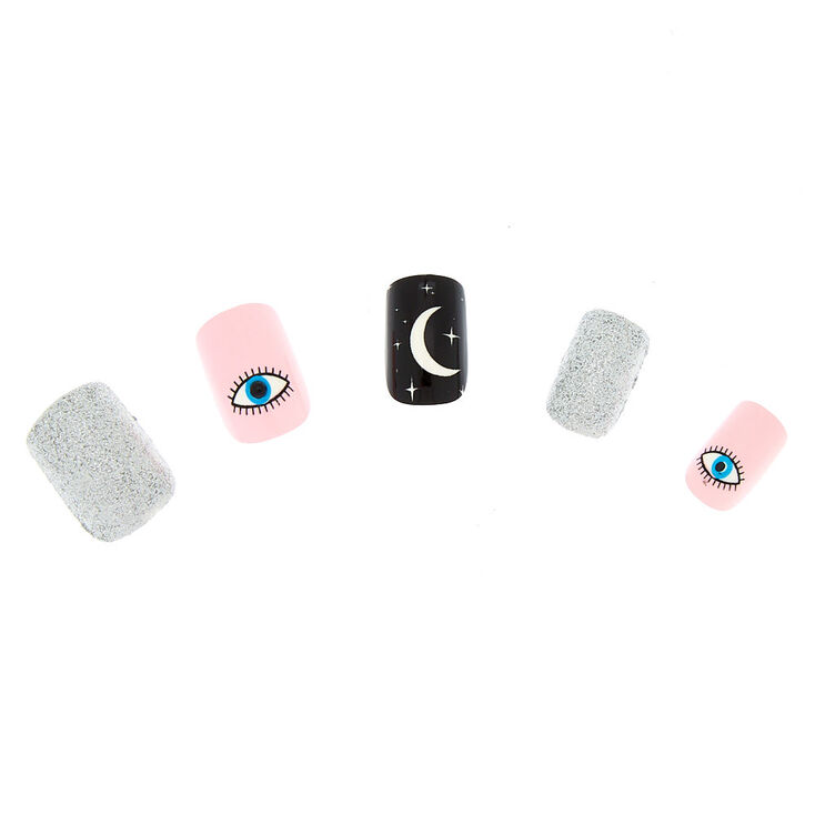 Mystic Moon Faux Nail Set - 24 Pack