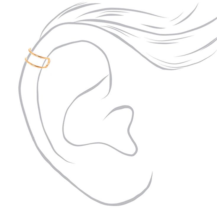 Lot de 3manchettes d'oreille avec fil métallique en métaux mixtes,