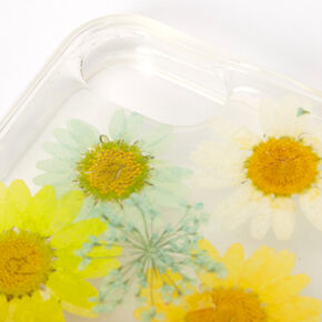 Rainbow Pressed Sunflower Phone Case - Fits iPhone 6/7/8/SE,