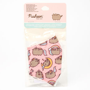 Pusheen™ Cloth Face Mask – Pink, Child medium/large,