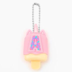 Pucker Pops® Initial Lip Gloss - Pink, A,