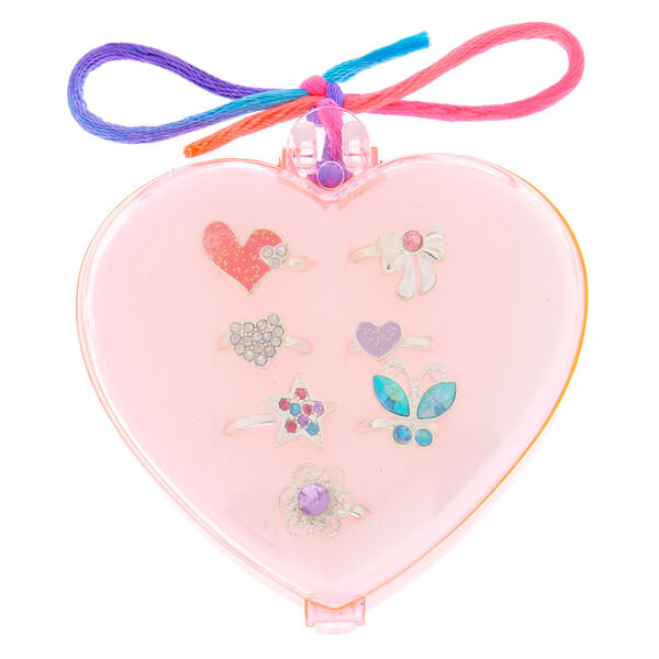 Claire's - club heart ring set - 1