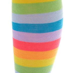 d8dbc67de18 Neon Stripe Ove the Knee Socks