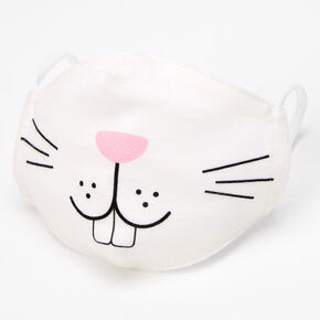 Easter Bunny Cotton Face Mask - Child Small,