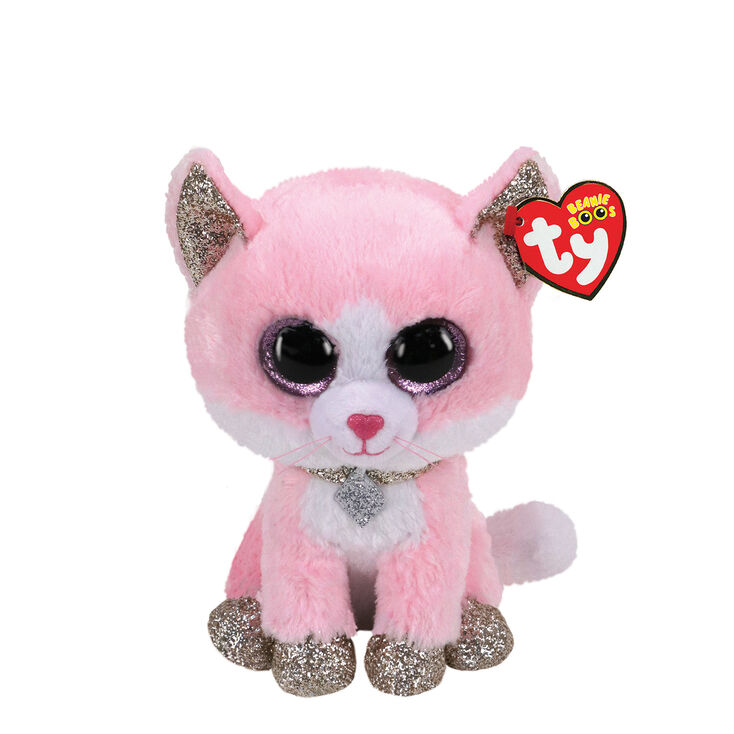 Ty Beanie Boo Small Amaya the Cat Soft Toy,