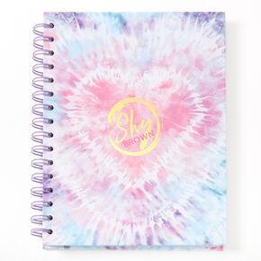 Sky Brown™ Tie Dye Notebook - Purple,