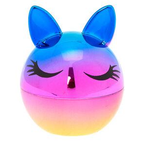 Rainbow Holographic Bunny Lip Balm - Strawberry,
