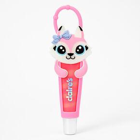 Pastel Fox Lip Gloss Tube - Strawberry,