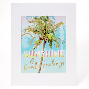 Sunshine & Good Feelings Wall Art,