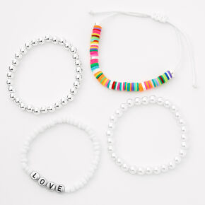 Love Mixed Bracelet Set - 4 Pack,