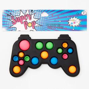 Super Pop Controller Fidget Toy - Black,