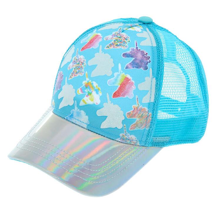 Colour Changing Unicorn Baseball Cap - Baby Blue  a99f111cd9b