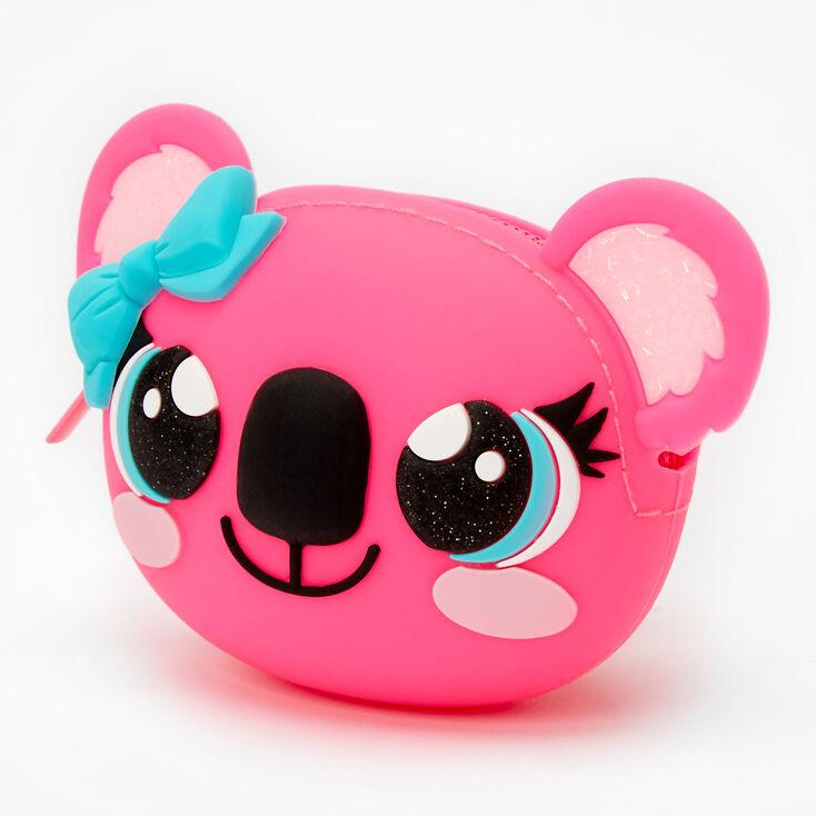 Koala Jelly Coin Purse – Pink,
